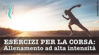 tabata hiit alta intensità rinforzo esercizi corsa fisioterapia monza cesano maderno seregno corsa correre esercizi